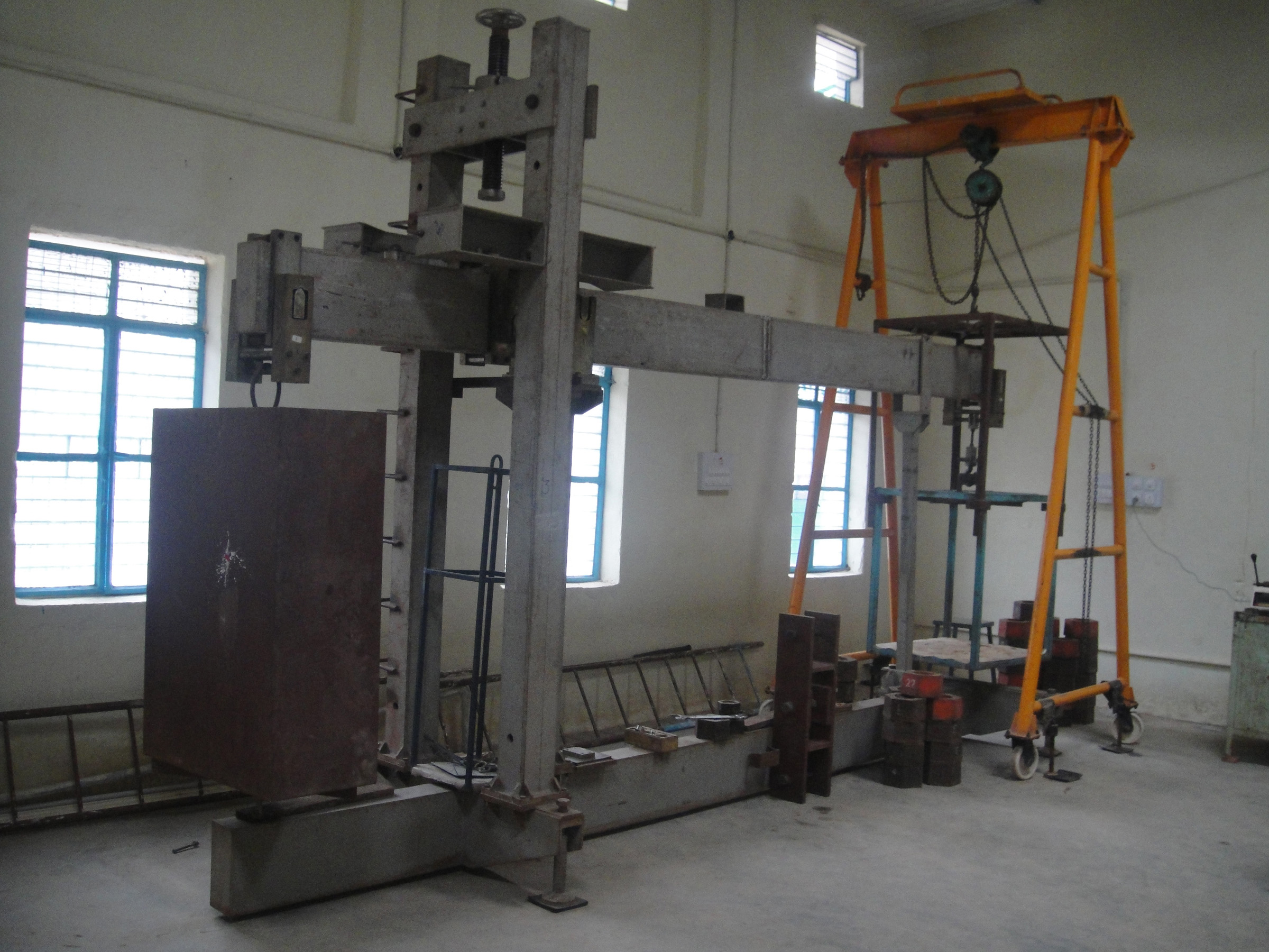 Dead Weight Type Load Test in Bangalore, India - Epoch Load Cell